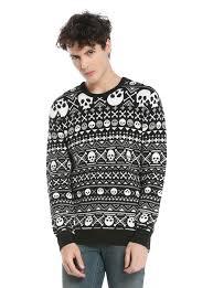 skull sweater rude skull fair isle knit sweater topic