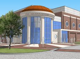 mustang community center smu to ground on aquatics center for s and s