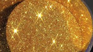 gold glitter car metal flake