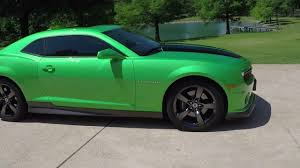 synergy green camaro ss for sale hd 2011 chevrolet camaro 2ss synergy v8 rs loaded for sale