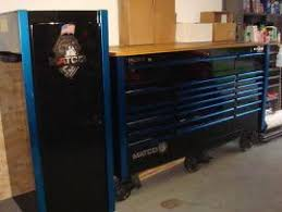 ship a matco tool box and side cabinet to haslet