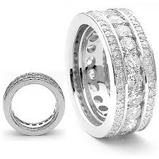 mens eternity rings contemporary style diamond eternity ring 3 12ct