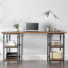 Modern Rustic Desk Tribecca Home Myra Vintage Industrial Modern Rustic
