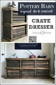pottery barn inspired crate dresser crates dresser and large