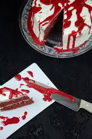Halloween Red Velvet Cake by