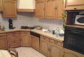 cuisine en lovely repeindre cuisine en bois hostelo