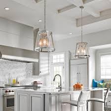 Kitchen Glass Pendant Lighting Beautiful Kitchen Attractive Clear Glass Pendant Lights Blown In