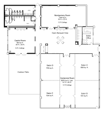 Charleston Floor Plan by Floor Plans Charleston Conference Center