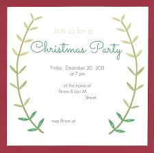 Invitation Cards Wording Tremendous Christmas Party Invitations Gift Exchange Wording