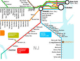 Penn Station New York Map by Njtransit Map My Blog