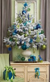 Christmas Tree With Blue Decorations - 26 beautiful teal christmas decoration ideas christmas celebrations