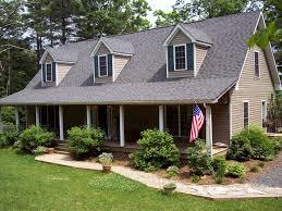 landscape design around front porch