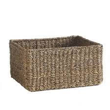 large seagrass basket wisteria