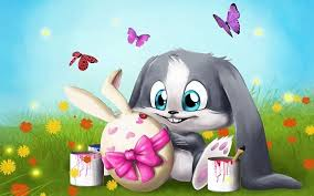 wallpaper for desktop of cartoons desktop cute bunny rabbit cartoon pics download
