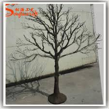 wholesale 8ft artificial tree without leaves plastic tree