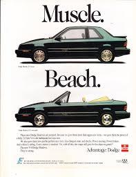 1985 renault alliance convertible 1992 dodge shadow advertisement dodge shadow es coupe u0026