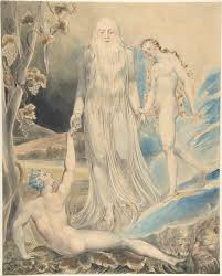 angel of the divine presence bringing eve to adam the creation of