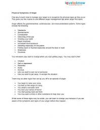 anger management fact sheets lovetoknow
