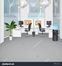 modern office vector illustration graphic design editable for save
