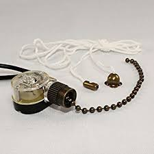 How To Fix Ceiling Fan Pull Chain For Light Zing Ear Ceiling Fan Light Lamp Replacement Pull Chain Switch Ze