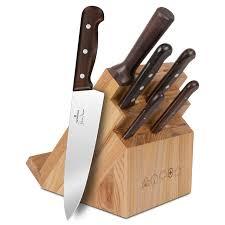 wooden handle kitchen knives kitchen decorating design stainless steel sharp brown