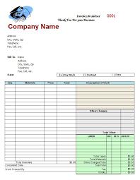 auto repair invoice template auto repair invoice template free