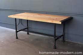 Diy Pipe Desk Amazing Diy Pipe Desk Plans Diy Plumbing Pipe Table Tutorial Drk