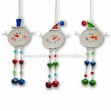promotional glass snowman ornament oem orders welcome