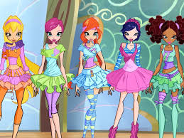 winx club character suits winx club