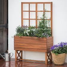 belham living brighton planter trellis hayneedle