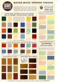 paint colors u0026 vintage guides retro renovation