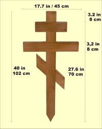 russian orthodox crosses buy grave markers and wooden cross for online personalized