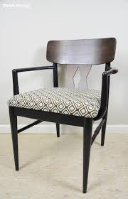 Midcentury Modern Armchair - never give up midcentury modern chair makeover curbly