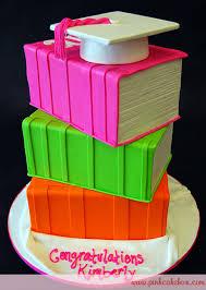 graduation books graduation stacked books cap cake graduation cakes
