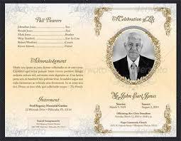 Funeral Programs Samples Free Printable Funeral Programs Templates Sample Funeral Program