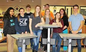 Standing Desks For Students Pottstown High Wins National Essay Contest Gets 30 Sit