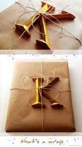 239 best brown paper gift wrapping images on pinterest gifts