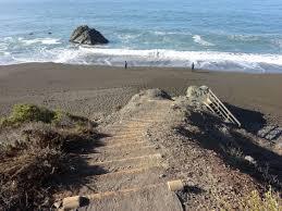 black sands beach in the marin headlands folkrocks