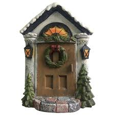christmas pixie elf fairy door tree garden home decor fun