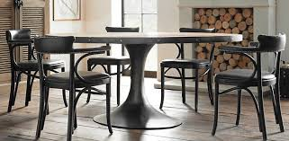 Restoration Hardware Bistro Table Aero Round Dining Table Restoration Hardware Logs For My Living
