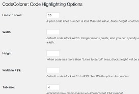 codecolorer u2014 wordpress plugins