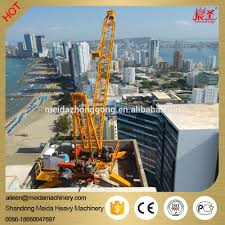widely used in india 10ton qd2430 24m jib roof derrick crane for