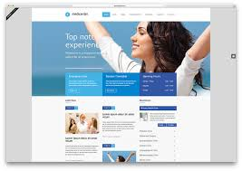 free website templates dreamweaver 20 best html5 medical website templates 2017 colorlib medicenter blue minimal health website template