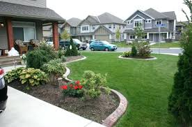 Front Lawn Garden Ideas Simple Front Yard Ideas Masters Mind