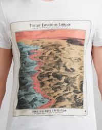 World Map T Shirt by Twain T Shirt Men U0027s Designer Jumpers U0026 Cardigans Belstaff