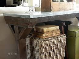 X Base Console Table Oliver And Rust Diy X Base Farmhouse Console Table