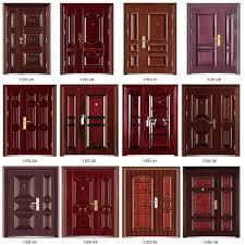 Indian Home Door Design Catalog Lastest Design Security Steel Double Door Design Buy Security