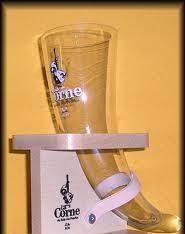 bicchieri birra belga bicchiere la corne du bois con supporto bicchieri per la