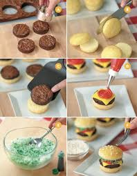New Year Cupcakes Decoration Idea by 25 Best Burger Cupcakes Ideas On Pinterest Hamburger Cupcakes