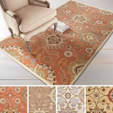 7 X 9 Wool Rug Rust Rugs U0026 Area Rugs For Less Overstock Com